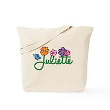 Juliette Flowers Tote Bag
