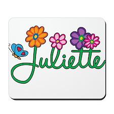 Juliette Flowers Mousepad