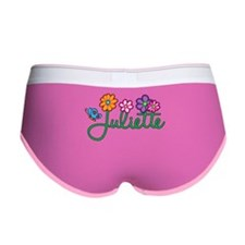 Juliette Flowers Women's Boy Brief
