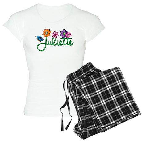 Juliette Flowers Women's Light Pajamas