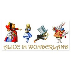 WONDERLAND Canvas Art