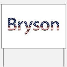 Bryson Stars and Stripes Yard Sign