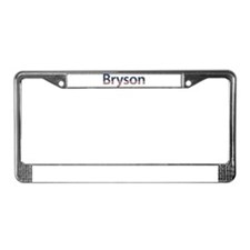 Bryson Stars and Stripes License Plate Frame