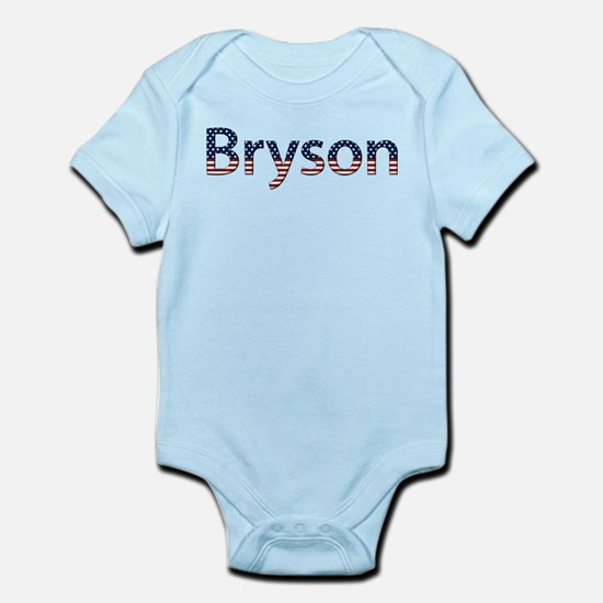 Bryson Stars and Stripes Infant Bodysuit