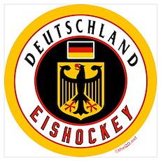 DE Germany Hockey(Deutschland Poster