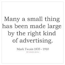 Mark Twain 9 Poster