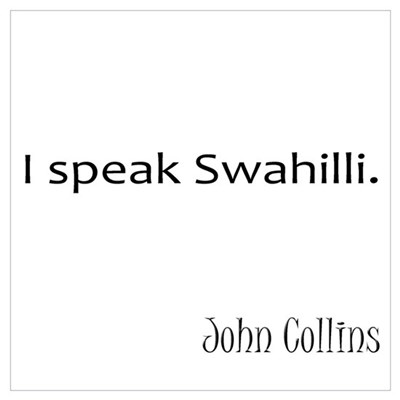 Swahilli Poster