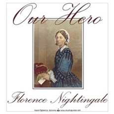 Our Hero Florence Nightingale Framed Print