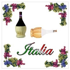 Italia Wine Canvas Art