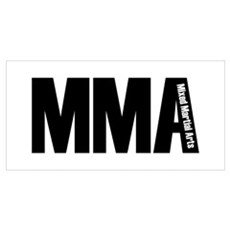 MMA - Mixed Martial Arts Poster