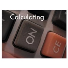 Calculating Poster