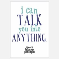 Speech pathologist Wall Art