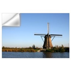 Dutch windmill Wall Decal