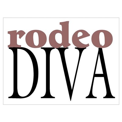 Rodeo Diva Poster