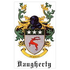 Daugherty Coat of Arms Poster
