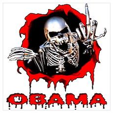 F U Obama Poster