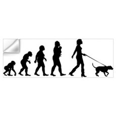 Dogwalking Wall Decal