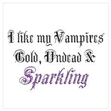 Cold Undead & Sparkling PRPL Poster