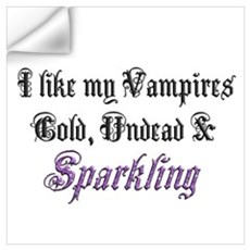 Cold Undead & Sparkling PRPL Wall Decal