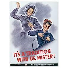 Women WII Poster
