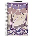 Batik Sunset Marsh Journal