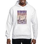 Batik Sunset Marsh Hooded Sweatshirt