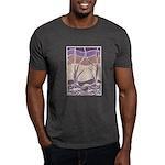 Batik Sunset Marsh Dark T-Shirt