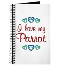 Love My Parrot Journal