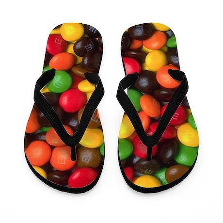Chocolate Candy Flip Flops
