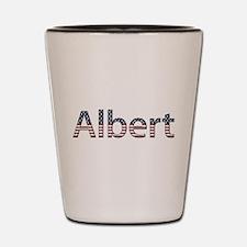 Albert Stars and Stripes Shot Glass