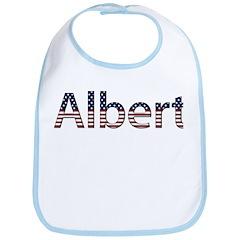 Albert Stars and Stripes Bib