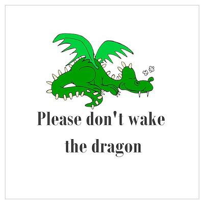 Sleeping Dragon Poster