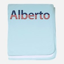 Alberto Stars and Stripes baby blanket