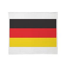 Cute Germany Throw Blanket
