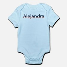 Alejandra Stars and Stripes Infant Bodysuit