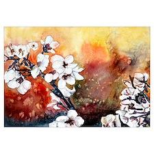 Japanese cherry blossom flowe