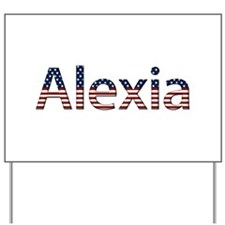 Alexia Stars and Stripes Yard Sign