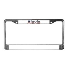 Alexia Stars and Stripes License Plate Frame