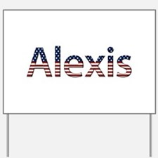 Alexis Stars and Stripes Yard Sign