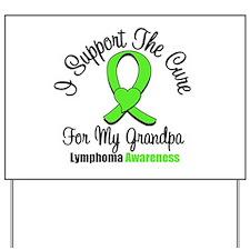 Lymphoma Cure (Grandpa) Yard Sign