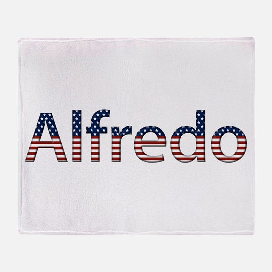 Alfredo Stars and Stripes Throw Blanket