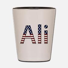 Ali Stars and Stripes Shot Glass