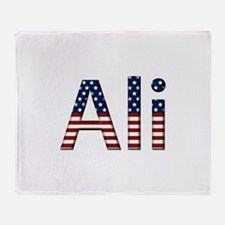 Ali Stars and Stripes Throw Blanket