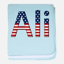 Ali Stars and Stripes baby blanket