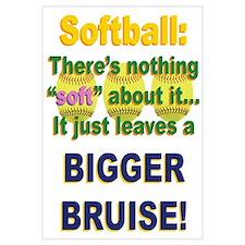 Softball = Not Soft