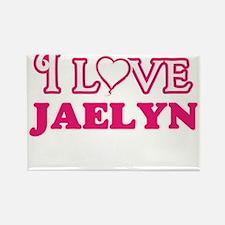 I Love Jaelyn Magnets