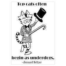 Top Cat Encouraging Print