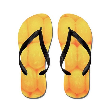 Corn on the Cob Flip Flops