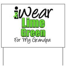 Lymphoma Grandpa Yard Sign