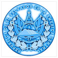 El Salvador Seal Poster
